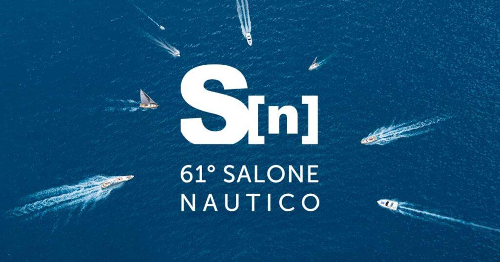 Logo della 61ma edizione del Salone Nautico di Genova.